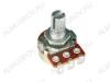 Потенциометр 1КB исп.2 RV16AF-10-15K-B1K-3 (R80) Металлический, вал 15 мм с накаткой и шлицем, линейная зависимость