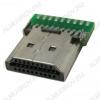 Разъем (611) HDMI-M19 Штекер без корпуса