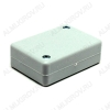 Корпус BOX-KA08 белый Корпус пластиковый 65,5х45,5х25 мм