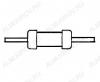 Резистор 1.8 кОм 0.5Вт (Распродажа)