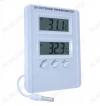 Термометр цифровой TM1005 Измерение наружной и внутренней температуры, 2 дисплея, память MAX-MIN; (гарантия 6 месяцев)