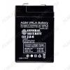 Аккумулятор 6V 2.8Ah GS2.8-6 свинцово-кислотный; 66*33*97+6