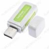 Card Reader OT-PCR04 (TD-507) USB2.0; поддержка: microSD/SD/M2/M2 DUO