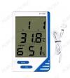 Термометр цифровой KT-908 Измерение наружной и внутренней температуры, внутренней влажности; (гарантия 6 месяцев)