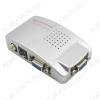 Видеоконвертер VGA TO VIDEO (5-980) Вход VGA; выходы RCA, SVHS, VGA; питание 5VDC от USB