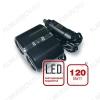 Разветвитель прикуривателя 2 в 1 + LED подсветка (CS204) 12/24V, 10A, 120W, LED подсветка, кабель 1м, артикул 43227