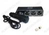 Разветвитель прикуривателя 3 в 1 + USB (CS313U) 12/24V, 5A, 60W, 1USB 5V 1A, LED индикатор, шнур 1м, артикул 43266