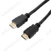 Шнур (5-808 1.0) HDMI шт/HDMI шт 1.0м (без фильтров) СУПЕРЦЕНА!!! Plastic-Gold