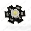 Светодиод  (90254)  STAR 5W белый_холодный 120°; IF=350mA; VF=6.5V; ФV=400-420Lm; 6500-7000К