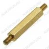 Стойка (№53) для платы PCHNN-20 металл h=20мм, резьба М3 наружная+наружная