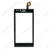 ТачСкрин для Sony Xperia ST26i J черный