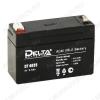 Аккумулятор 4V 3.5Ah DT 4035 свинцово-кислотный; 90*34*60+6