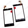 ТачСкрин для Nokia 520/525 в рамке черный